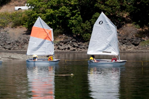Jr Opti Sailing