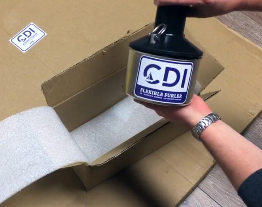 cdi flexible furler with ball bearings