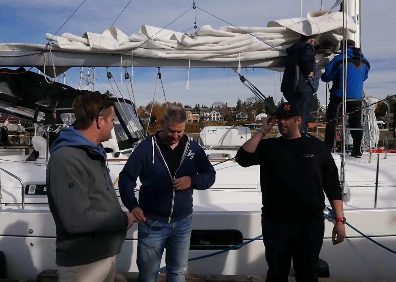 Precision sails SailingDoodles
