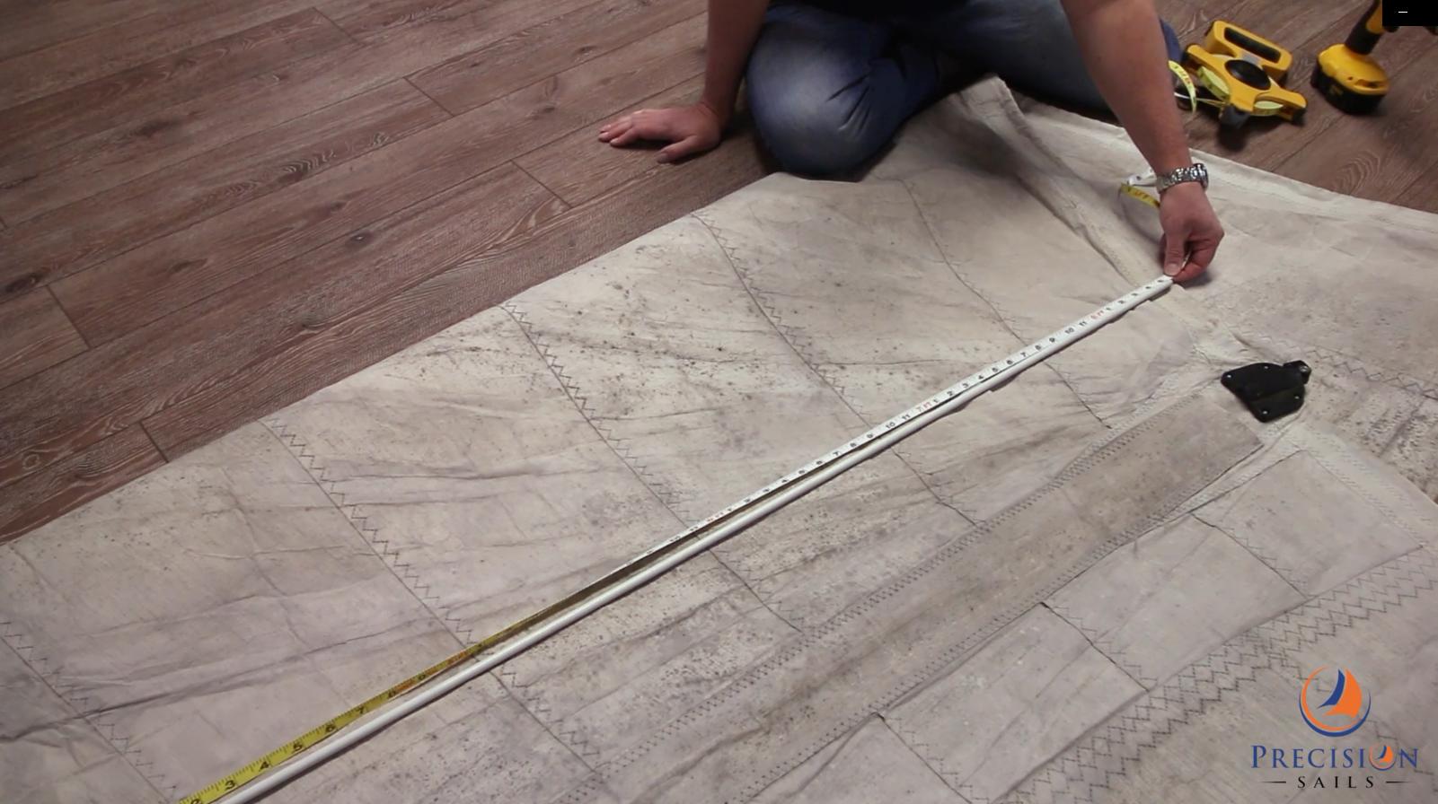 catamaran batten length measurement
