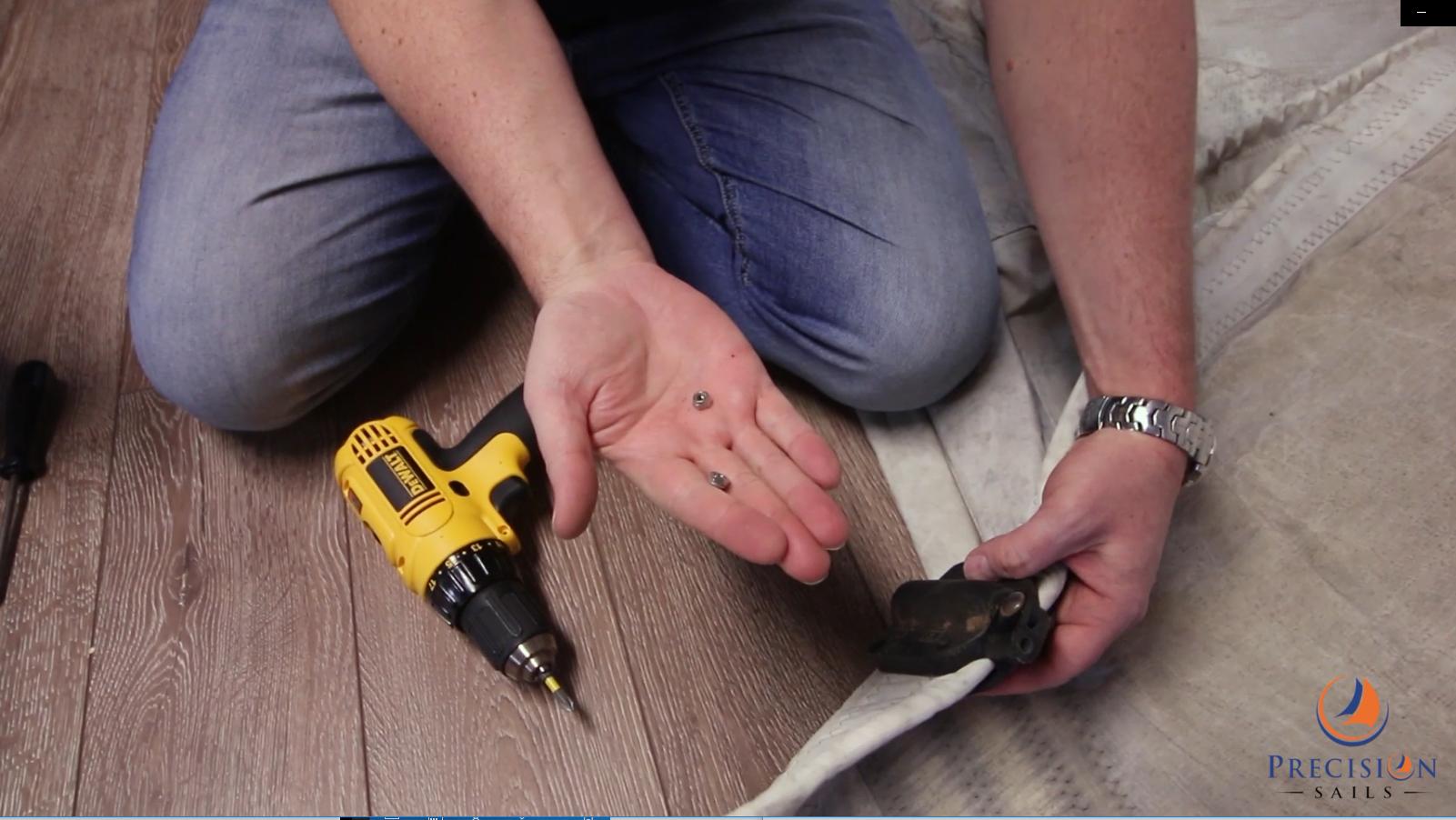 how to install harken batten recepitcal