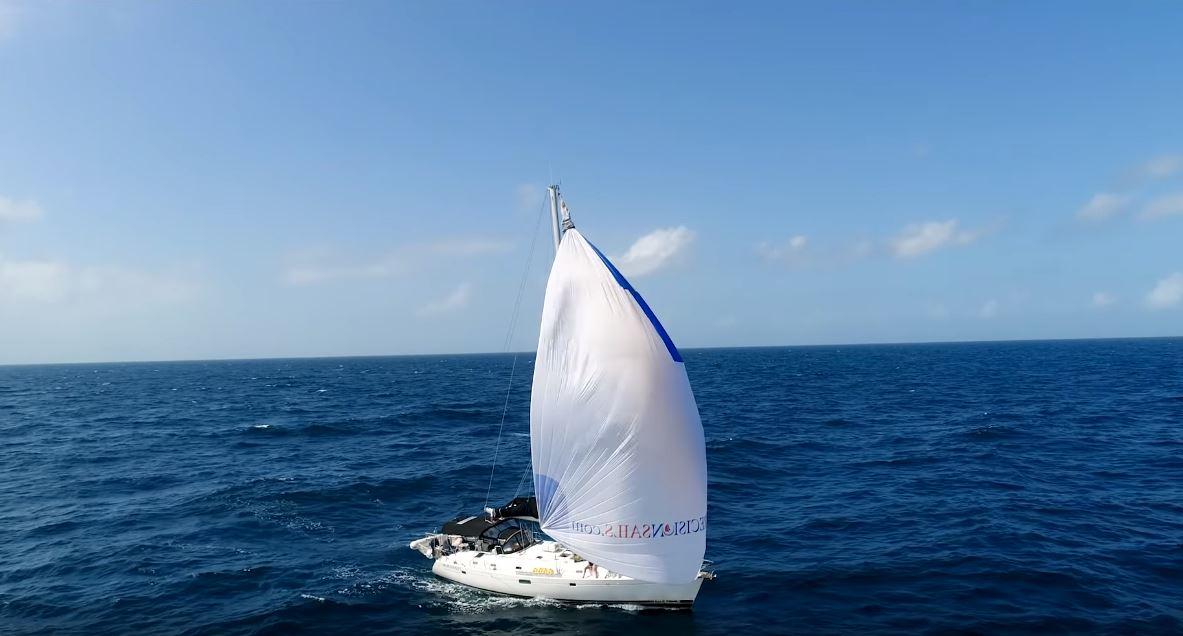 Sailing Doodles Asymmetrical Spinnaker