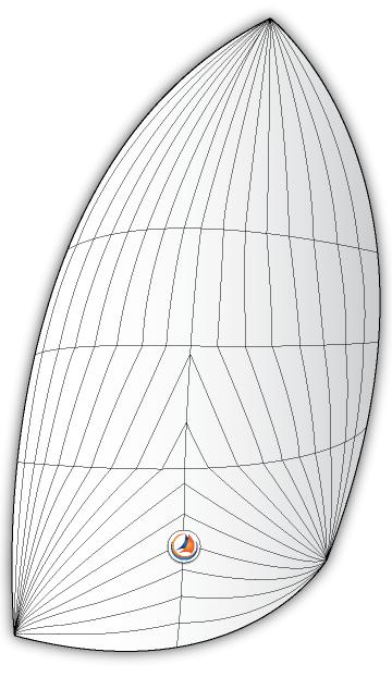 A2 Asymmetrical Spinnakre