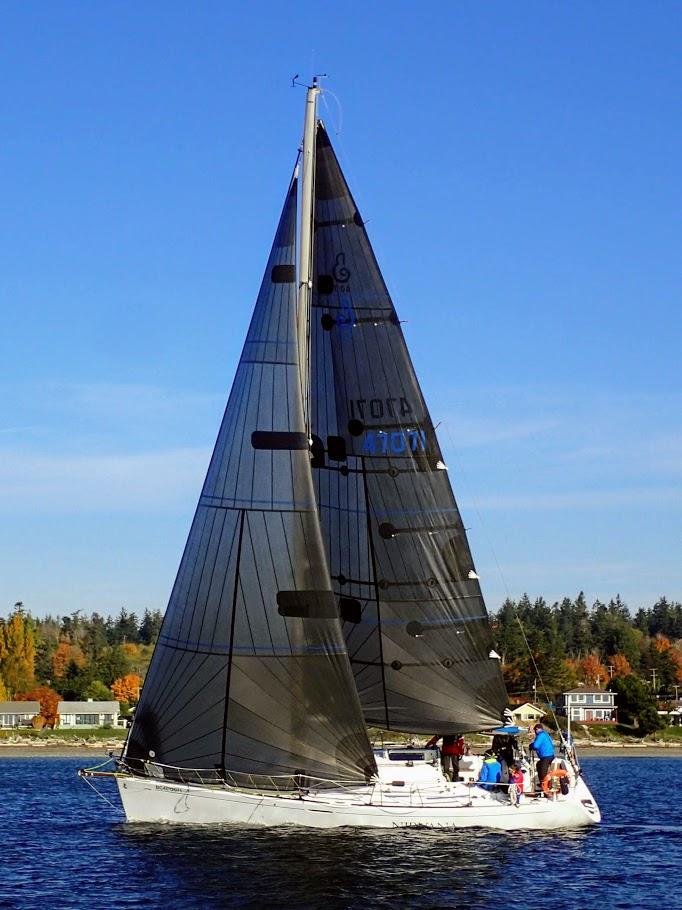 Beneteau 407 Flying Precision Sails Sails