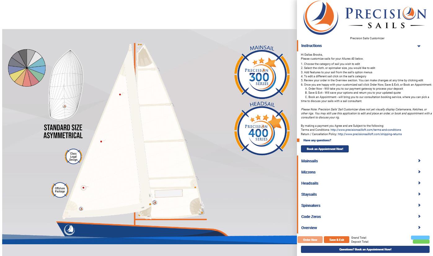 Sail Customizer