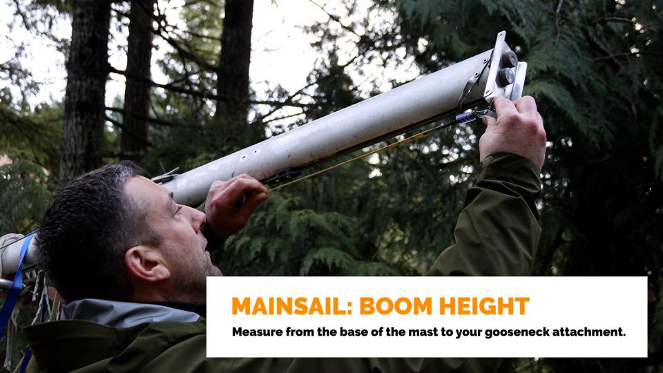 Mainsail: Boom Height