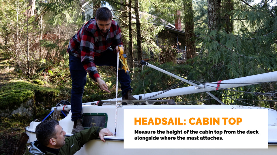 Headsail Cabin Top
