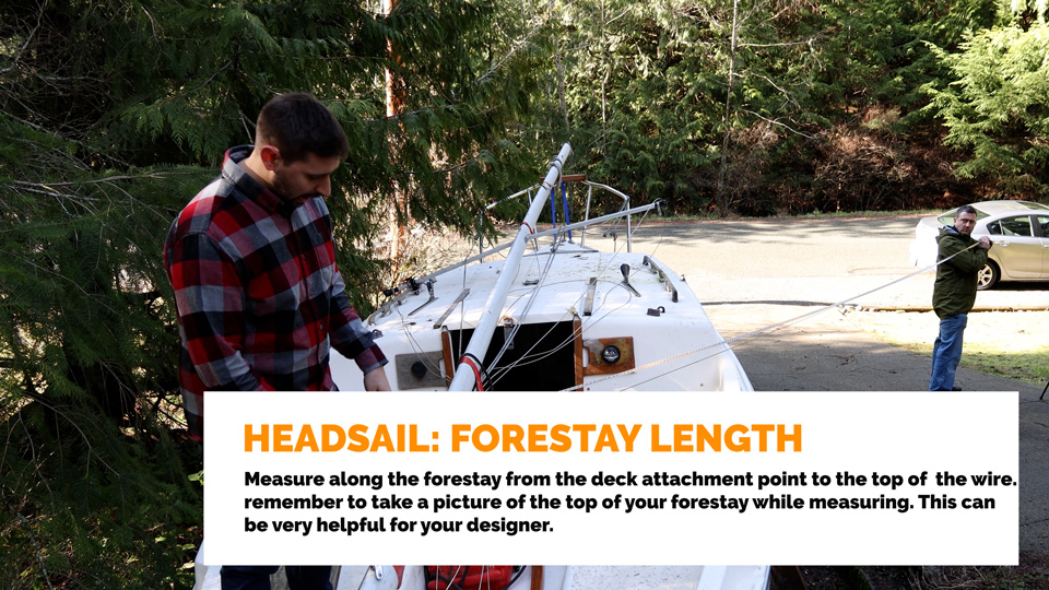 Headsail Forestay Length