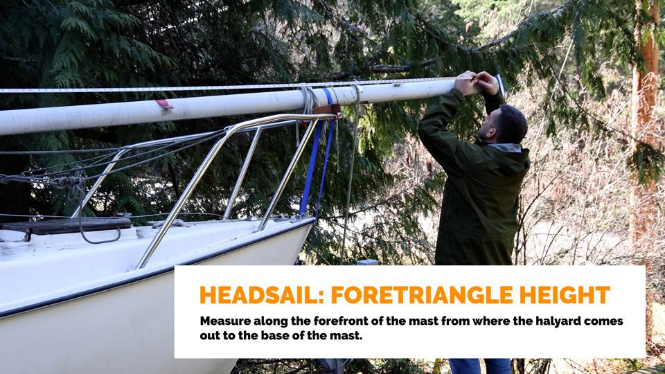 Headsail Foretriangle Height