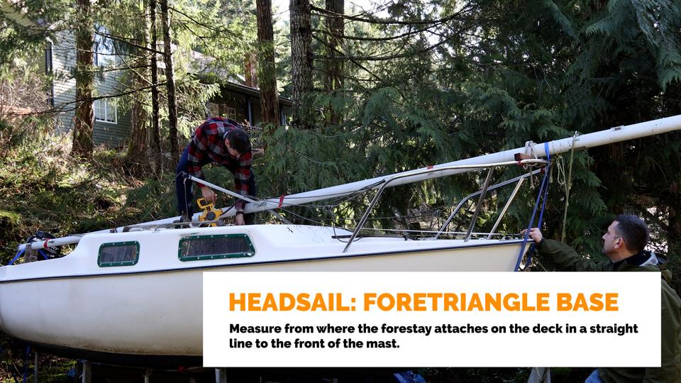 Headsail Foretriangle Base