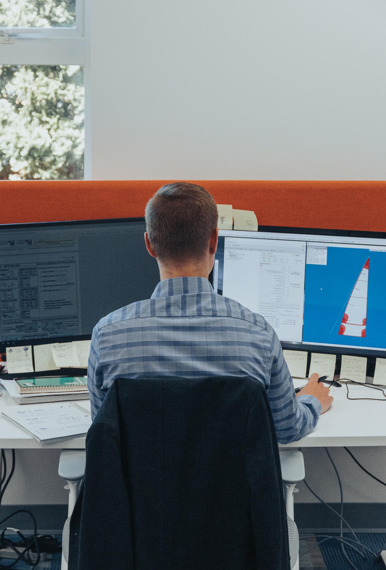 Sail Designer Steve Geddes