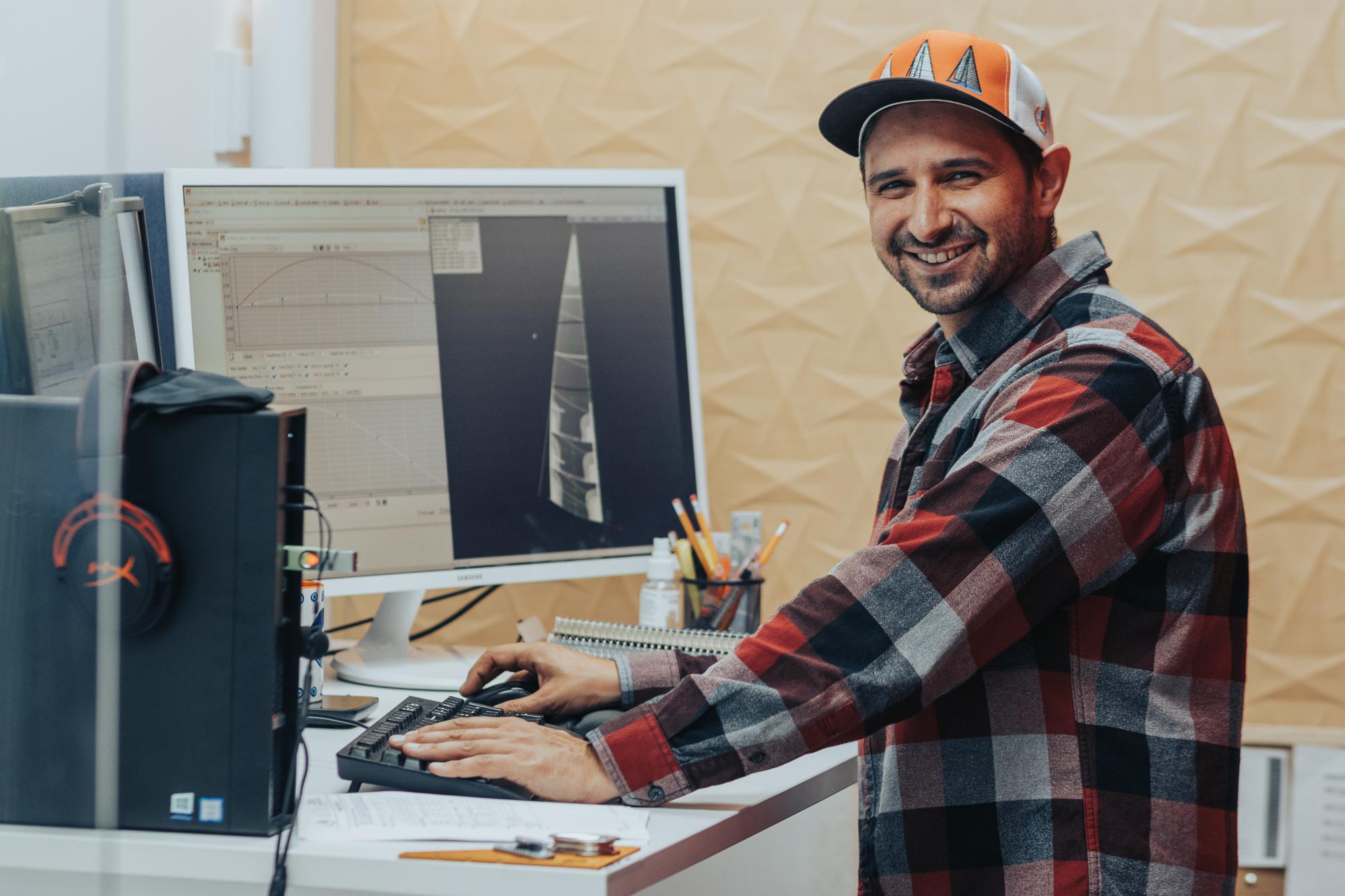 Sail Designer Jeremy Roszmann