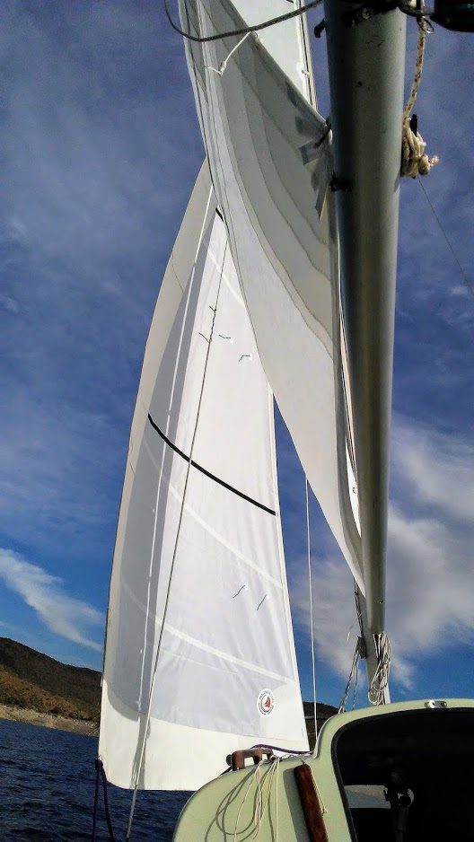 Precision 300 Series Dacron on a Siren 17