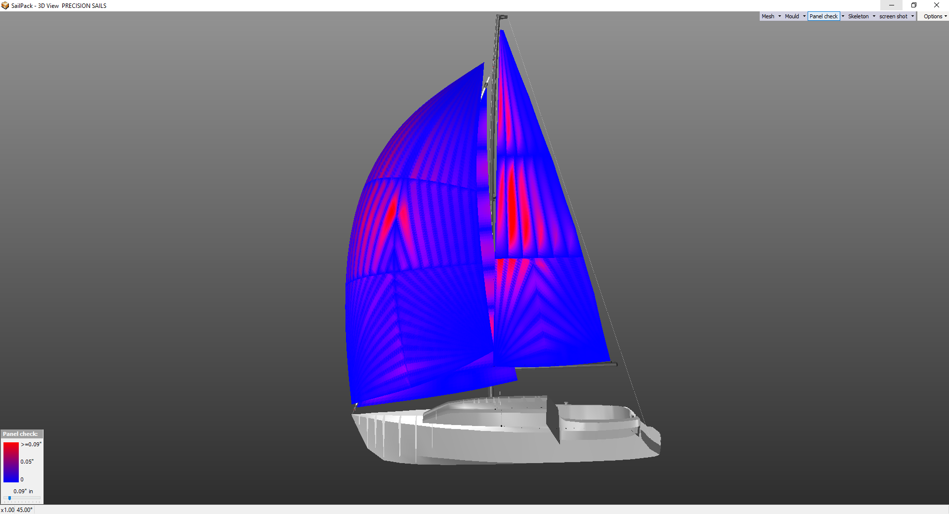 Sail Design Analysis