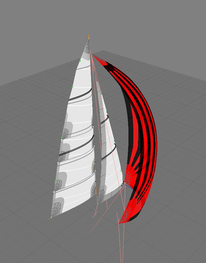 Lagoon 410 Sail Design