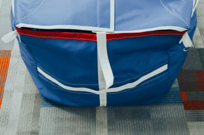 Tack or Clew Side of Spinnaker Bag to show details of bag
