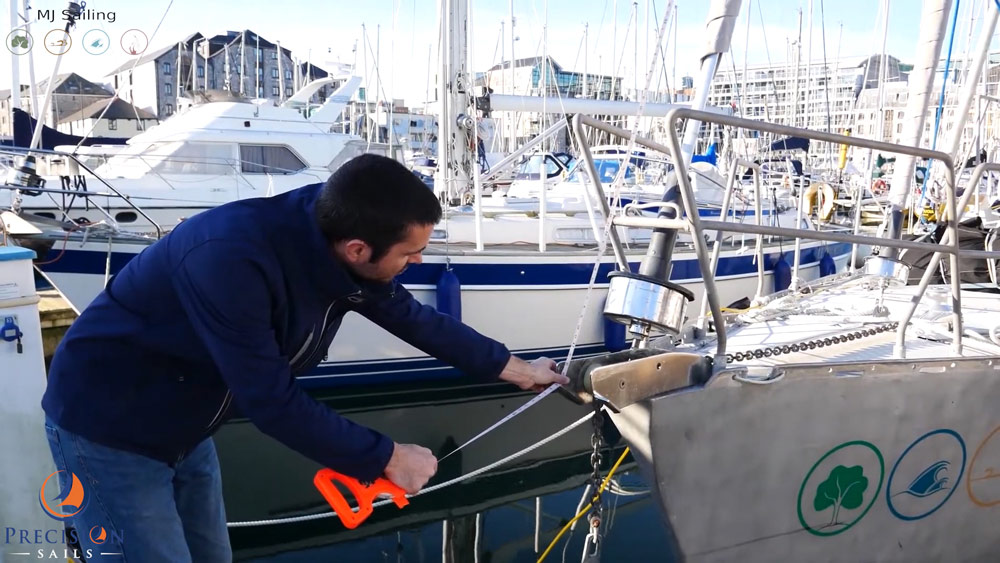 How to measure for a new spinnaker